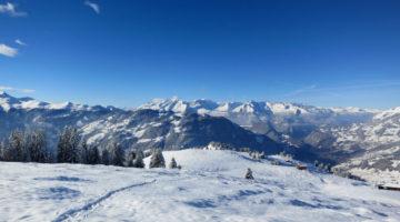 Schneeschuhwanderung Chrüz im Prättigau