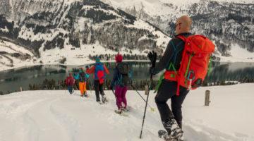 Schneeschuhwanderung Wägitalersee